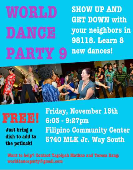 world dance party flyer 9